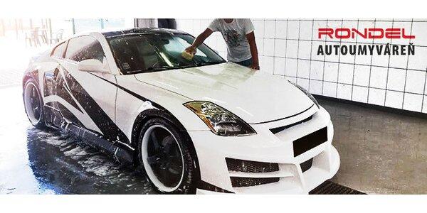 Ručné čistenie auta s výberom programu