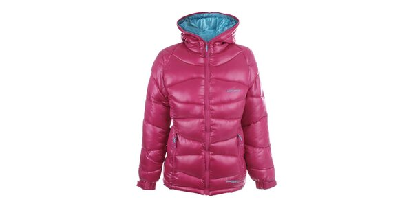 Dámska obojstranná ružovo-modrá bunda Envy
