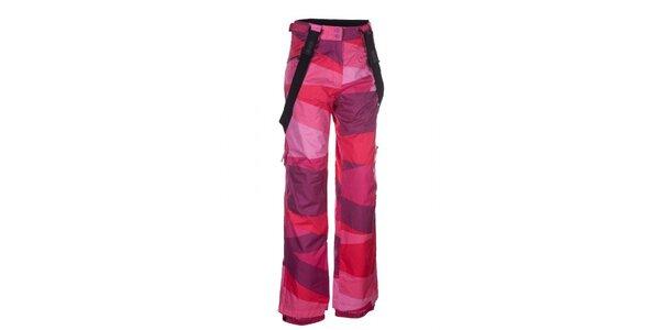 Dámske ružové snowboardové nohavice Envy