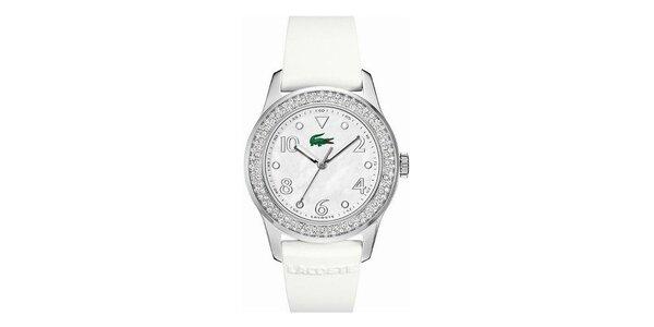 Dámske hodinky s kryštálikmi Lacoste