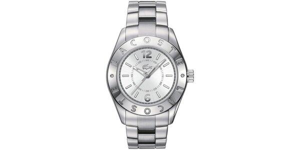 Dámske oceľové hodinky Lacoste - strieborná farba