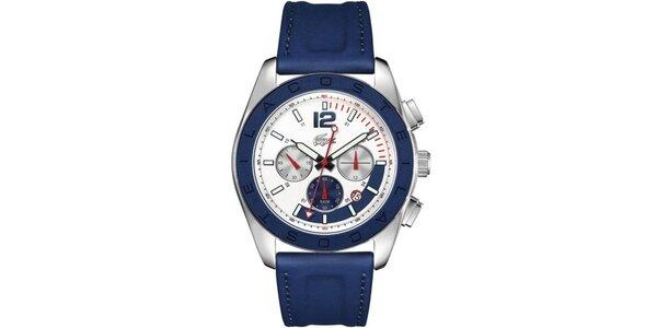 Pánske modré analógové hodinky Lacoste