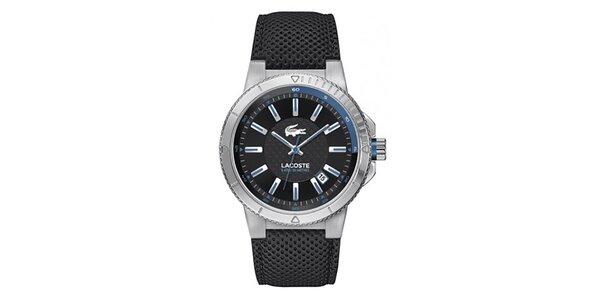 Pánske analógové hodinky s modrými prvkami Lacoste