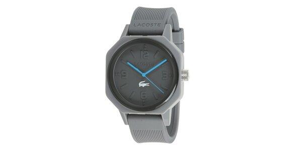 Dámske šedé hodinky Lacoste