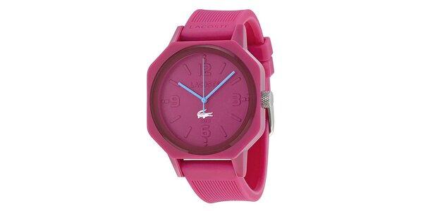 Dámske ružové hodinky Lacoste