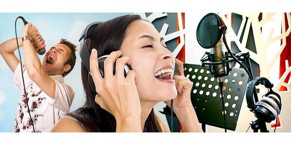 Spevákom na skúšku - nahrajte si pieseň na CD v profi štúdiu