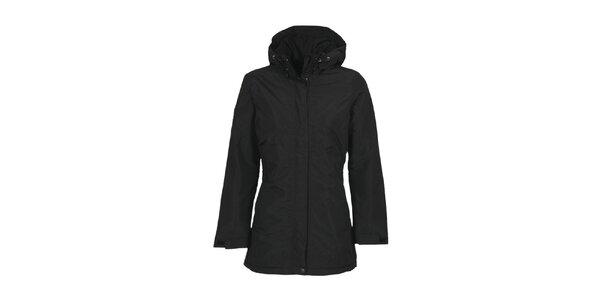 Dámsky čierny kabát s membránou Bergson