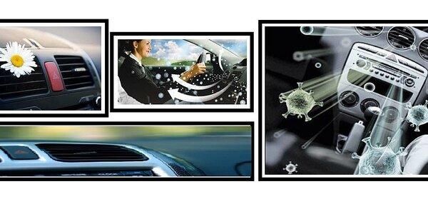 Čistenie klimatizácie ozónom vo vozidlách