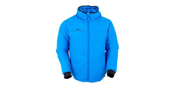 Pánska modrá zateplená bunda Izas