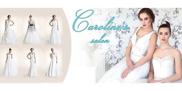 Exluzívne svadobné šaty na prenájom či predaj