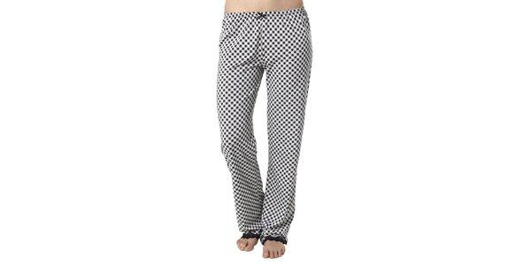 Dámske kárované pyžamové nohavice Vive Maria