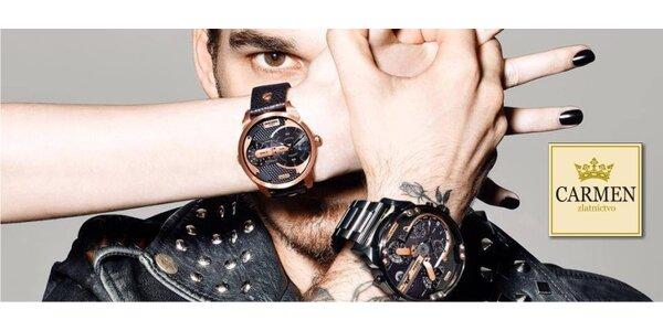 Výpredaj značkových hodiniek S.Oliver a hodiniek Moschino, doprava zdarma