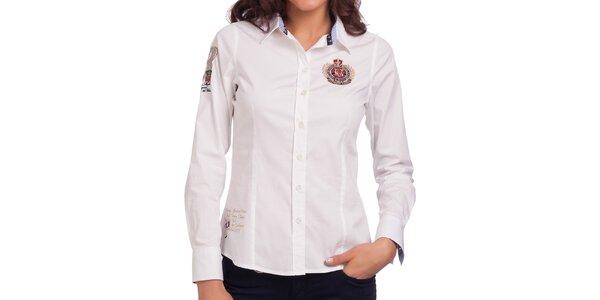 Dámska biela košeľa Galvanni