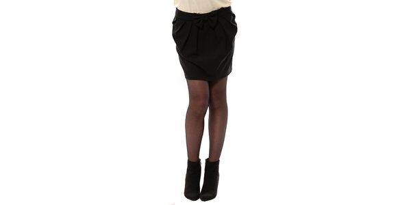 Dámska čierna sukňa s mašľou My Little Poesy 0c95b65a66a