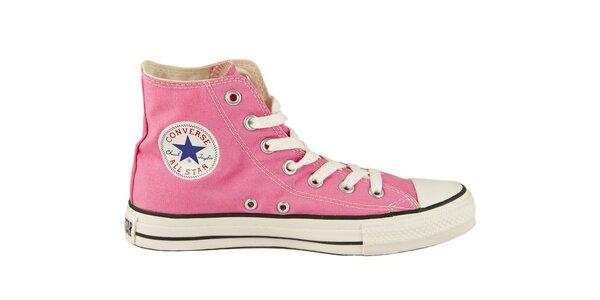 Ružové kotníkové tenisky Converse