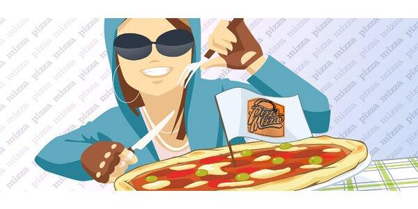 Skvelá XL pizza pre 2 v Auparku