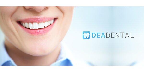 Dentálna hygiena s vyšetrením chrupu stomatológom