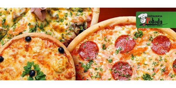 2x na výber z 10 druhov pizze + citronáda pre 2