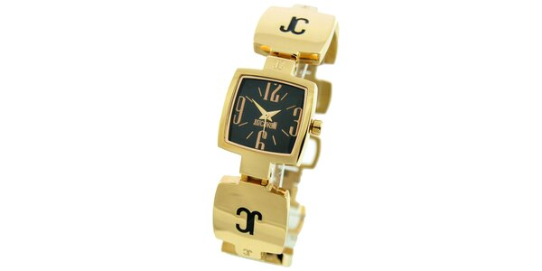 Dámske hodinky v zlatom tóne Just Cavalli