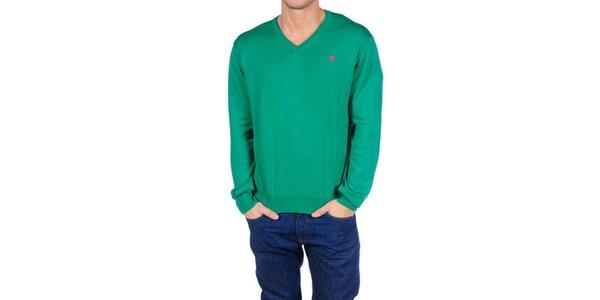 Pánsky zelený sveter Hackett London