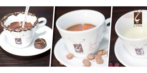 Horúca čokoláda z pravej belgickej čokolády