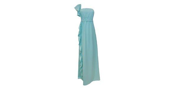 Dámske ľahko tyrkysové společenské šaty Virginia Hill