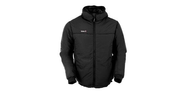 Pánska čierna zateplená bunda Izas