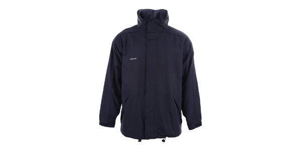 09f9ebbf45 Výpredaj pánskych búnd a kabátov – všetko skladom. Táto kampaň už skončila.  Pánska tmavo modrá bunda Joluvi