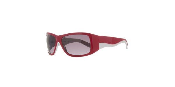 Dámske červeno-biele slnečné okuliare Agatha Ruiz de la Prada