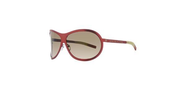 Dámske tehlovo červené slnečné okuliare Agatha Ruiz de la Prada
