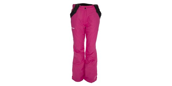 Dámske ružové lyžiarske nohavice Kilpi