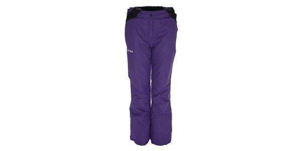 Dámske fialové lyžiarske nohavice Kilpi