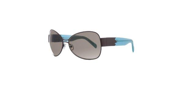 Dámske hnedo-modré slnečné okuliare Agatha Ruiz de la Prada
