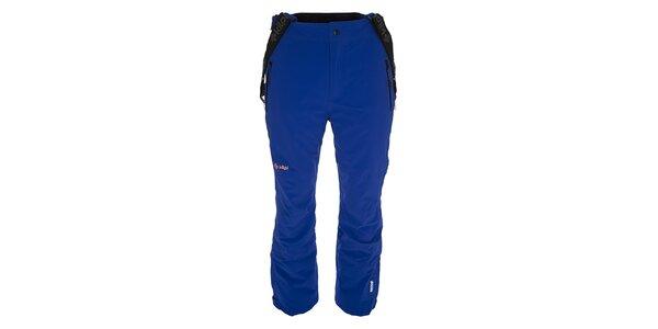 Pánske modré lyžiarske nohavice s trakmi Kilpi