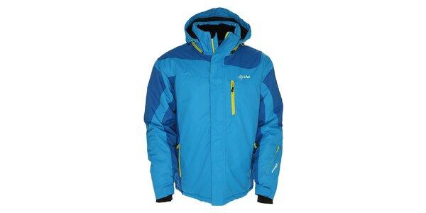 Pánska svetlo modrá bunda pre lyžiarov Kilpi