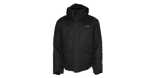 Pánska tmavo šedá bunda pre lyžiarov Kilpi