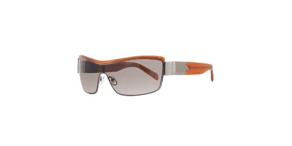 Dámske oranžovo-béžové slnečné okuliare Agatha Ruiz de la Prada