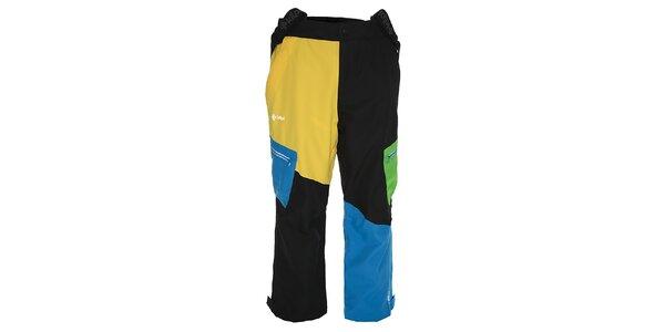Pánske viacfarebné snowboardové nohavice Kilpi