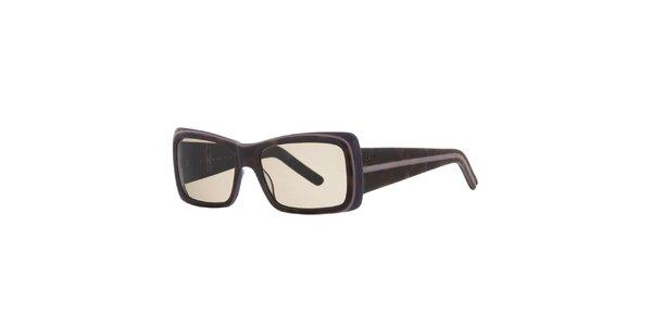 Dámske hnedo-fialové slnečné okuliare Agatha Ruiz de la Prada