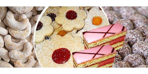 Lahodné domáce zákusky, linecké koláčiky alebo čajové koláčiky