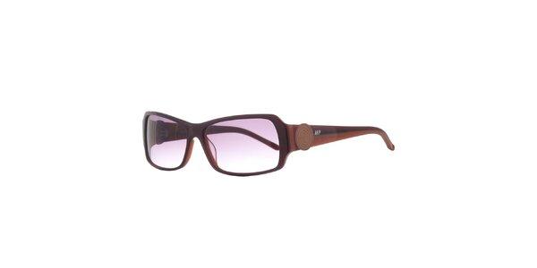 Dámske hnedo-vínové slnečné okuliare Agatha Ruiz de la Prada