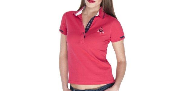 Dámske červené polo tričko Giorgio di Mare