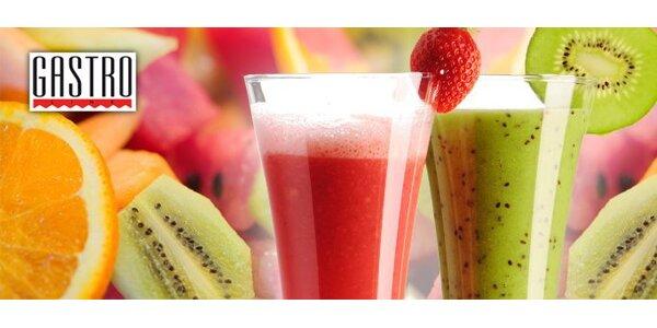 0,95 eur za 3 dlc čerstvej ovocnej šťavy s 50% zľavou!
