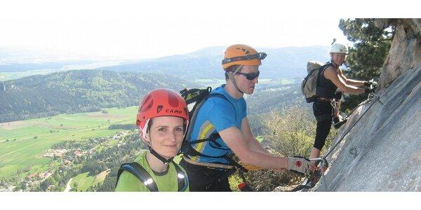 Kurz lezenia po zaistených cestách - ferratách - Hohe Wand / Raxalpe