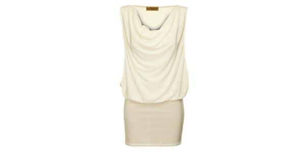 Dámske slonovinové šaty Comptoir des Parisiennes