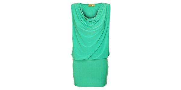 Dámske tyrkysové šaty Comptoir des Parisiennes