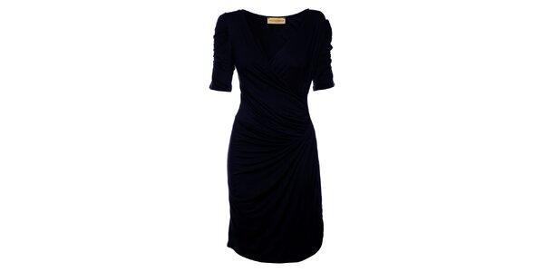 Dámske tmavo modré šaty Comptoir des Parisiennes