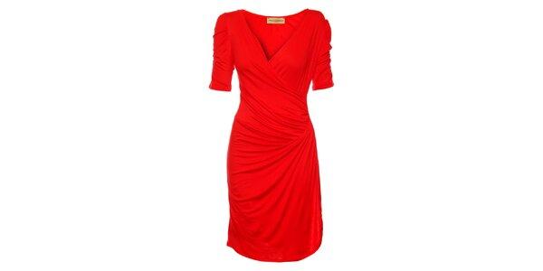 Dámske červené šaty Comptoir des Parisiennes