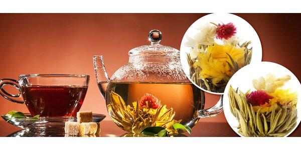 Darčeková kolekcia úžasných kvitnúcich čajov
