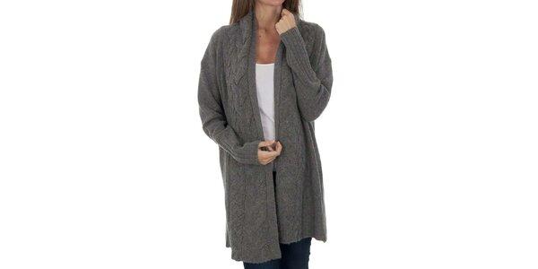 Dámsky šedý sveter Tommy Hilfiger